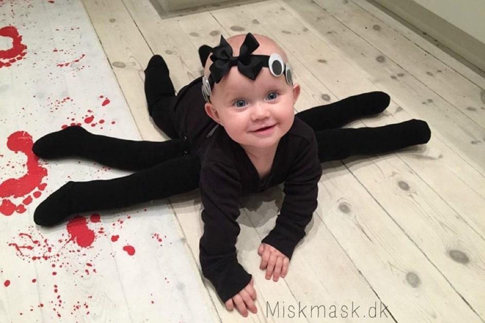 Costume bébé Halloween l'araignée