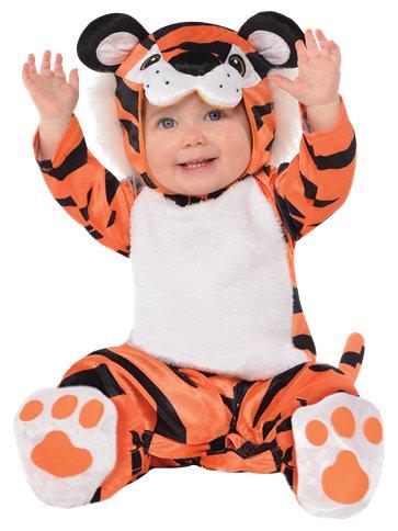 Costume bébé Halloween tigrou