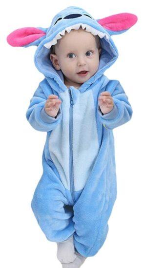 Costume d'Halloween pour bébé stich
