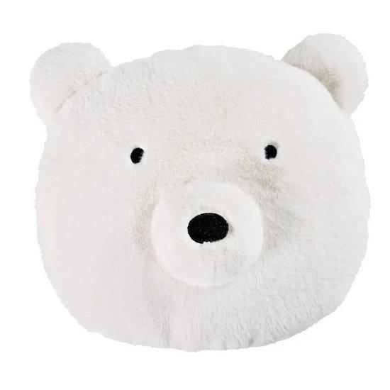 Coussin ours blanc MARTIN de Maisons du Monde