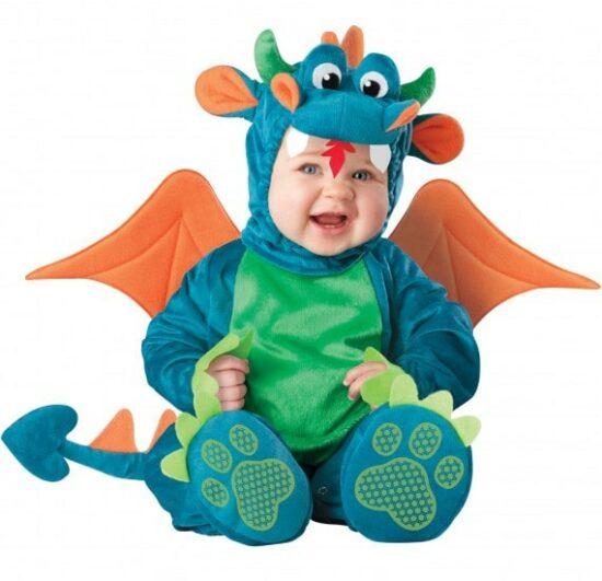 Déguisement Dragon pour bébé