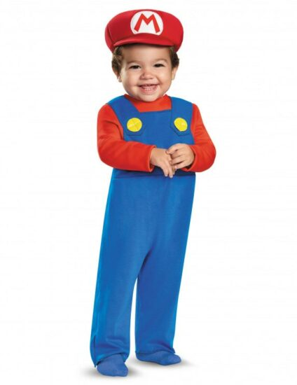 Costume bébé Halloween mario