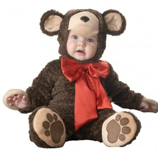 Costume bébé Halloween ourson