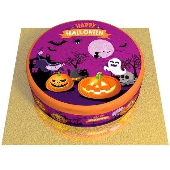 Gâteau Happy Halloween