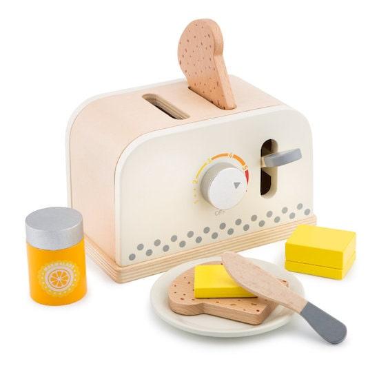 Jouet en bois grille pain pour enfant marque New Class ic Toys