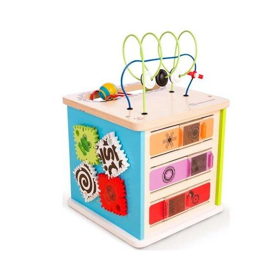 """Grand cube d'activités """"Innovation"""" Baby Einstein Hape Toys"""