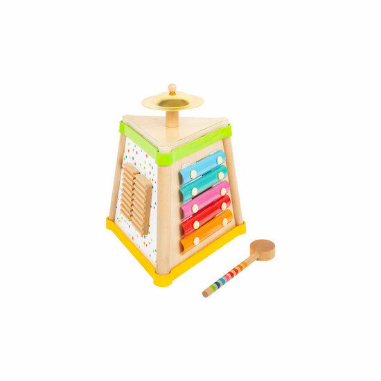 Adorable jouet en bois Petits Chats musical