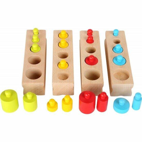 Les poids Good Mood jeu à emboîter Multicolore en bois