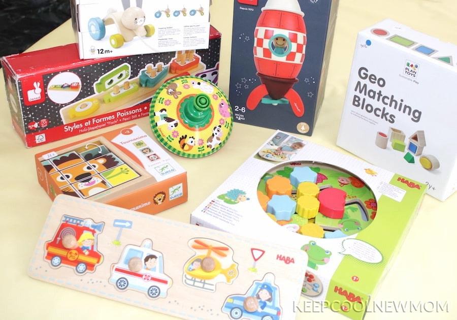 Ma sélection de jouets sur la ludothèque Lib&Lou pour mon fils AXEL