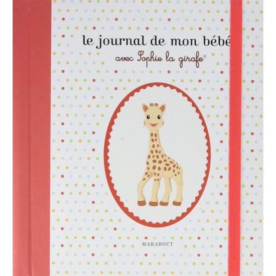L'album de mon bébé avec sophie la girafe