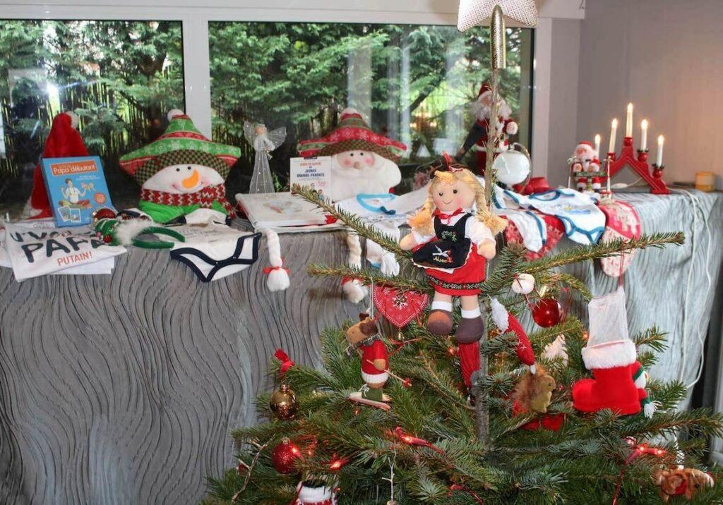 Photo d'idées cadeaux à offrir pour annoncer sa grossesse à Noël