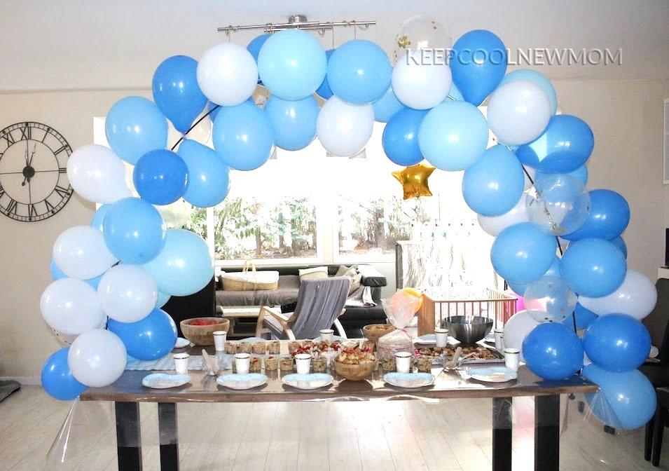 Arches de ballons pour décorer ma baby shower