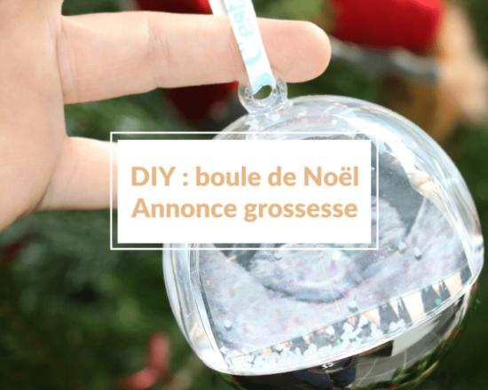 Read more about the article Boule de Noël pour annoncer sa grossesse : 5 DIY faciles et mignons (boules et ornements spécial échographie) 🎅