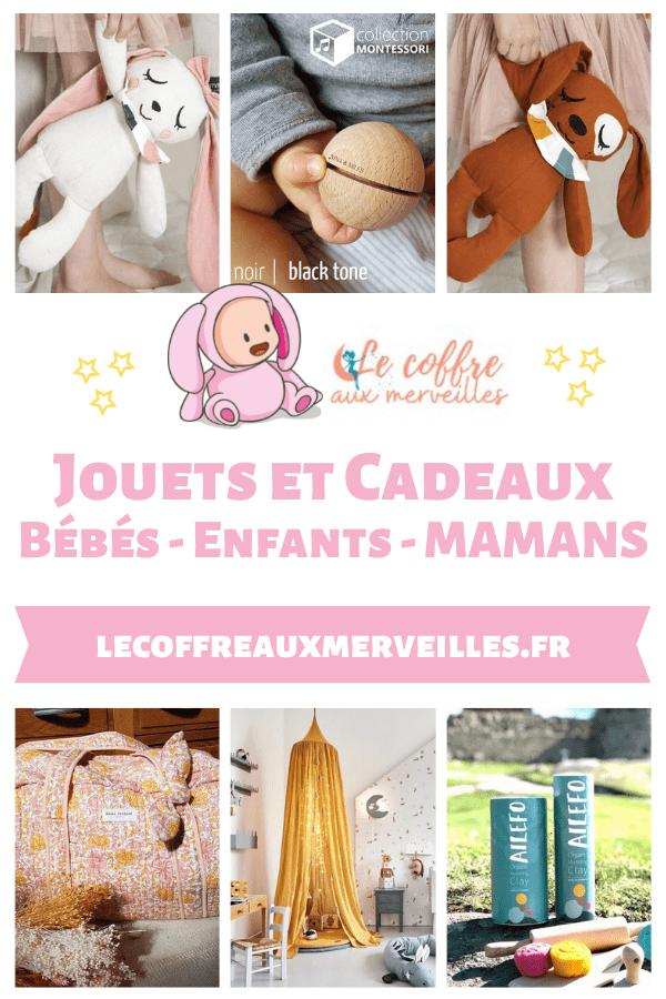 Boutique Le coffre aux merveilles avec de jolis trésors éco-friendly pour enfants - Un article à découvrir sur le blog : keepcoolnewmom.com
