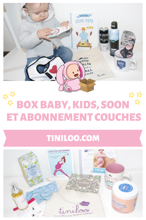 Mon avis complet sur les box Tiniloo et leurs couches eco-friendly - Un article à découvrir sur le blog : keepcoolnewmom.com