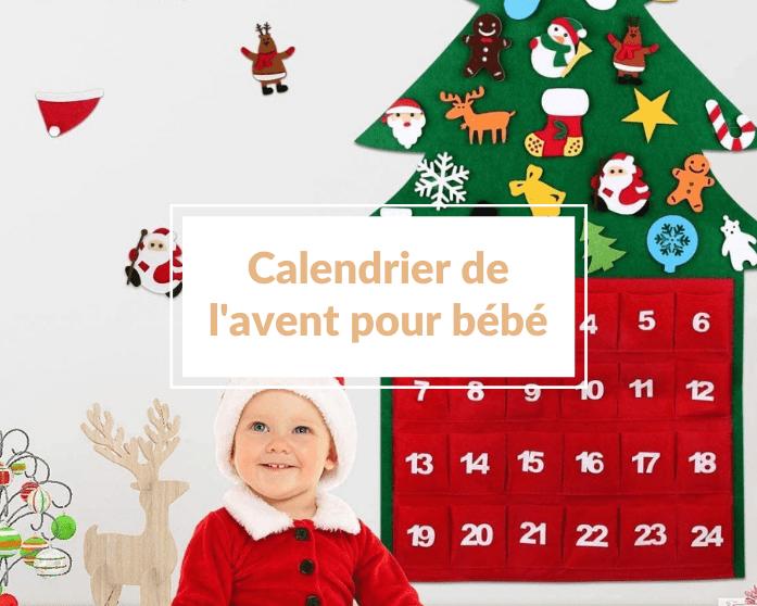 Quel calendrier de l'Avent pour bébé choisir pour amuser bébé 🎅 ?