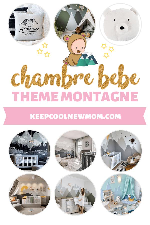 Comment décorer une chambre bébé montagne moderne ? - Un article à découvrir sur le blog : keepcoolnewmom.com
