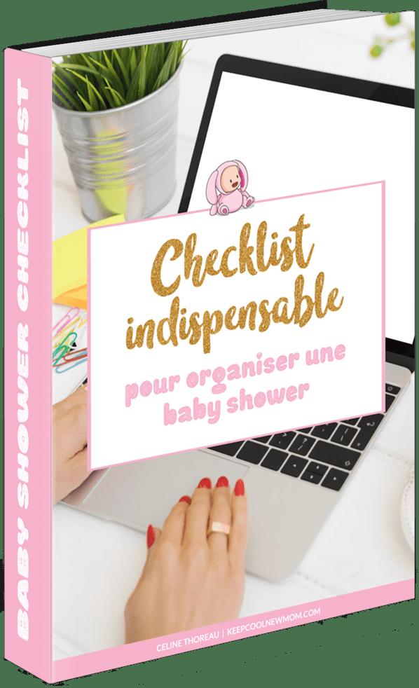 Checklist indispensable pour organiser une baby shower