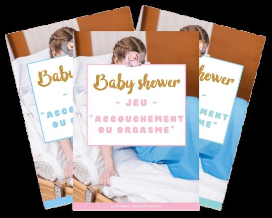 Fiches de jeux/animations : indispensables pour s'amuser pendant une baby shower