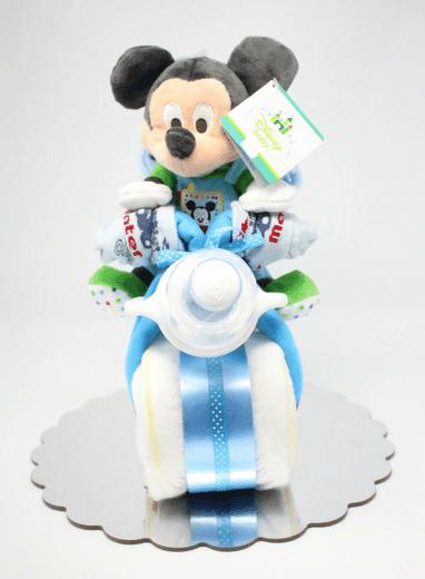Gâteau de couches moto