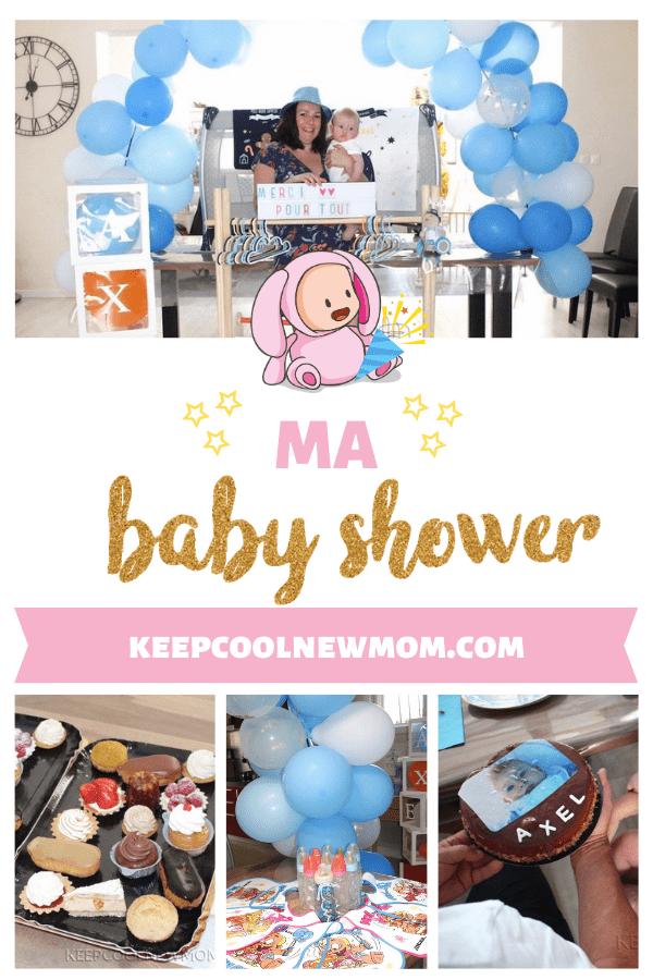 Ma baby shower fête tant désirée en plein coronavirus - Un article à découvrir sur le blog : keepcoolnewmom.com