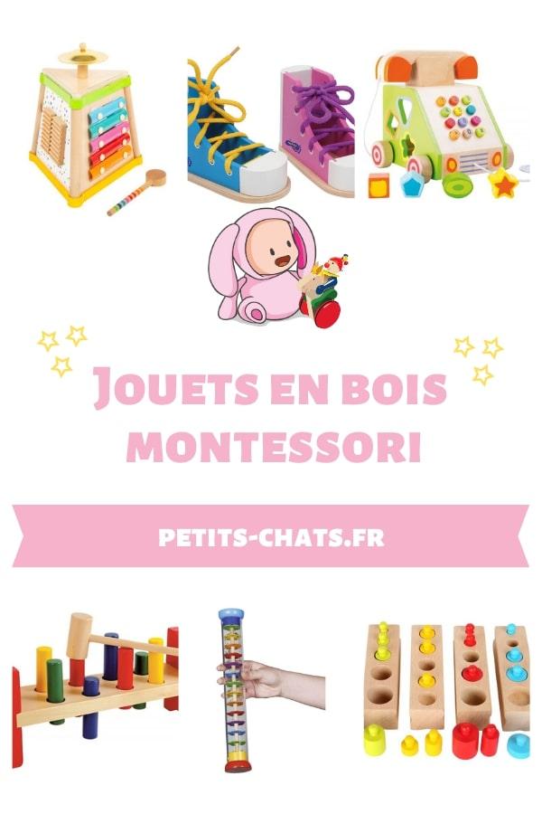 Jouets en bois Petits chats Inspiration Montessori - Un article à découvrir sur le blog : keepcoolnewmom.com