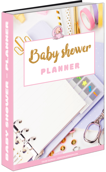 Planner baby shower