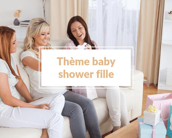 25 idées de thèmes pour une baby shower fille