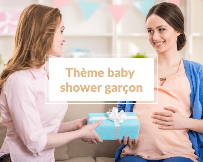 25 idées de thèmes pour une baby shower garçon