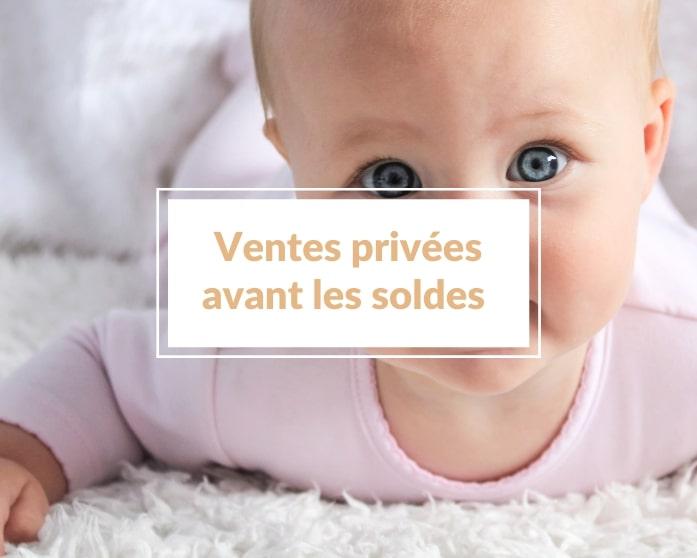 Profite des ventes privées avant les soldes d'été 2021 pour renouveler la garde-robe de ton enfant 😉 !