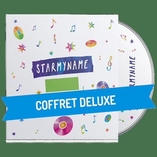Coffret Deluxe de chansons personnalisés pour enfant