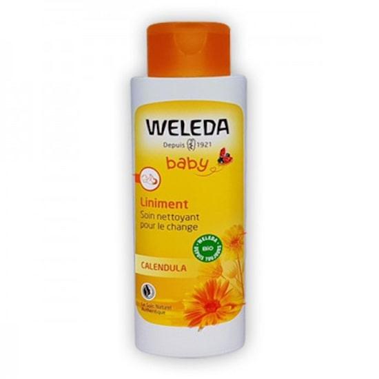 Liniment Weleda pour nettoyer le change de bébé