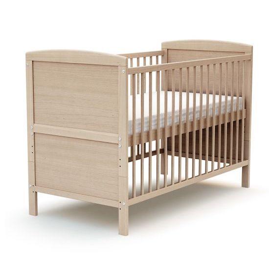 Lit bébé évolutif écologique de la marque Europe & Nature pour aménager une chambre bébé naturelle