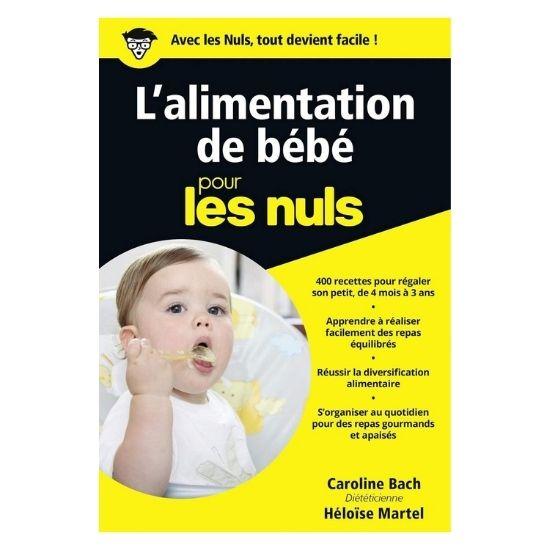 Livre sur l'alimentation de bébé pour les Nuls