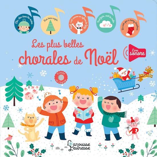Livre bébé Mes plus belles chorales de Noël de Bérengère Staron
