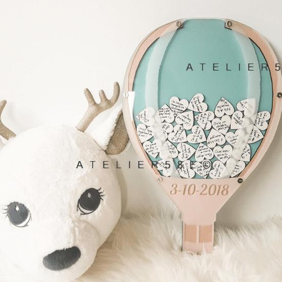 Livre d'or montgolfière – Atelier58E