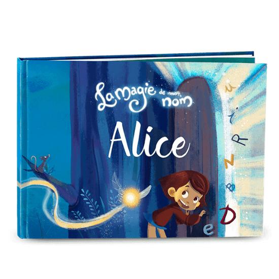 Comme cadeau de naissance personnalisé, tu peux offrir un livre personnalisé au prénom de l'enfant de My Magic Story
