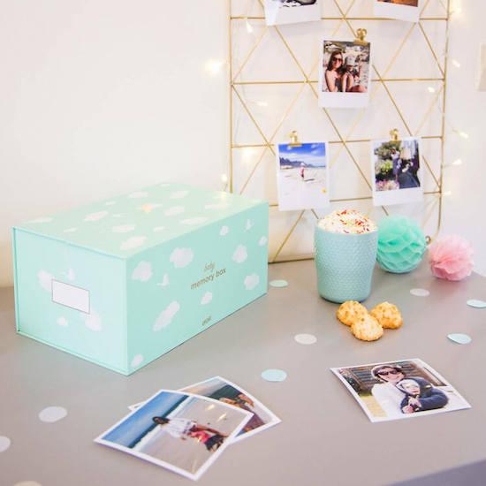 Memory Box Bébé à mettre sur la liste de naissance Milirose