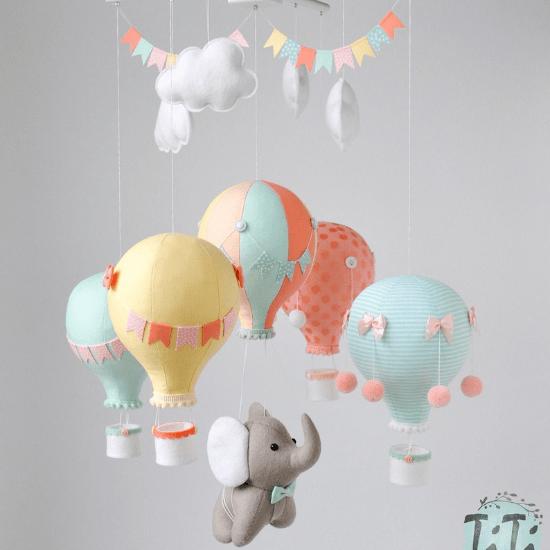 Mobile montgolfière – TiTics