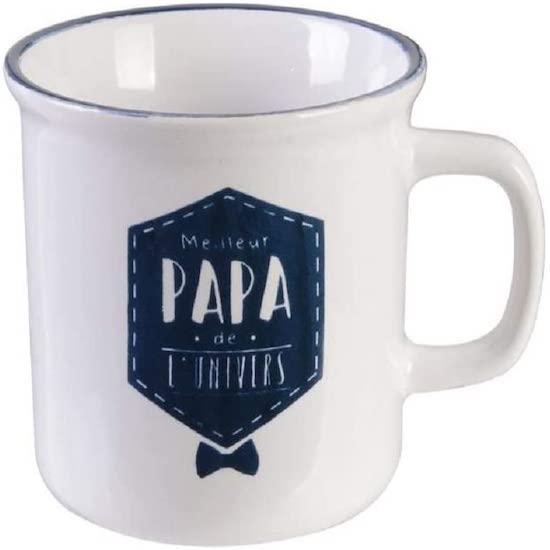 Mug meilleur papa de l'univers