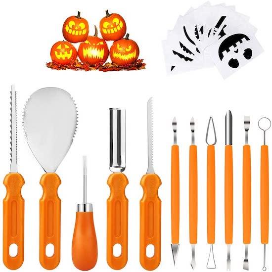 Kit pour Citrouille d'Halloween
