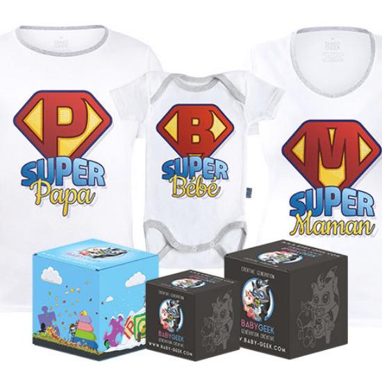 Pack famille geek – Babygeek
