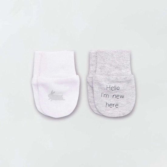 """Cette paires de moufles """"éco-conception"""" de kiabi fera partie des indispensables à mettre dans le trousseau de naissance"""