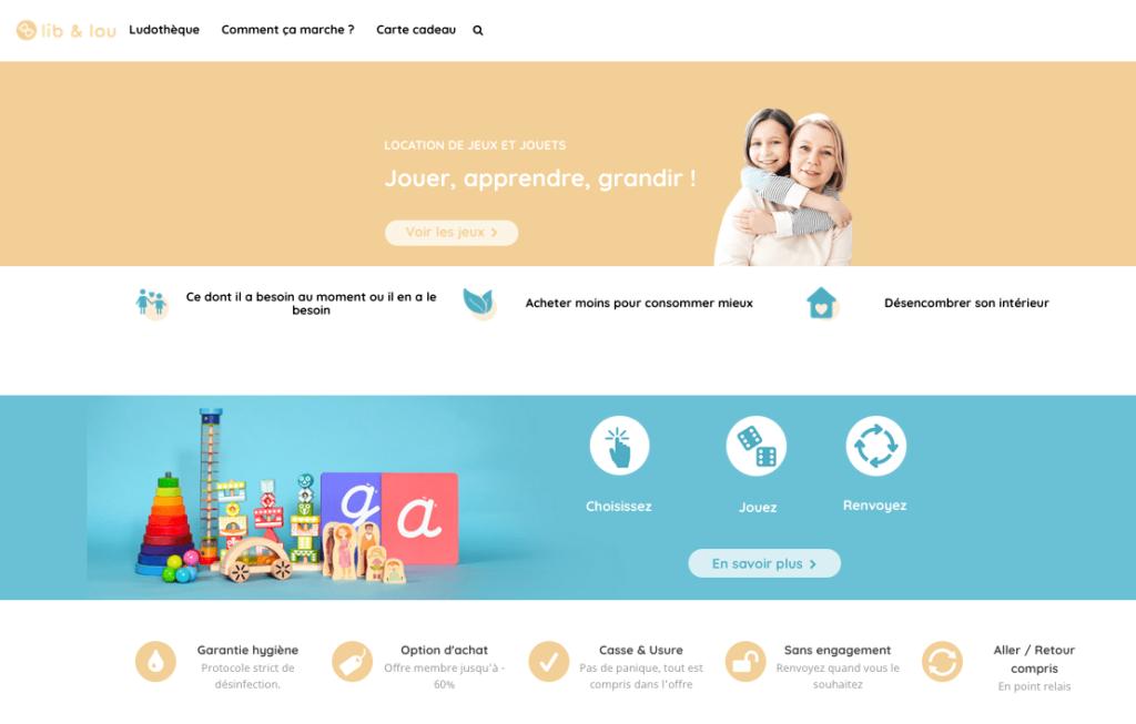 Découverte de la ludothèque Lib&Lou : une ludothèque en ligne 2.0 pour louer jeux et jouets pour enfants
