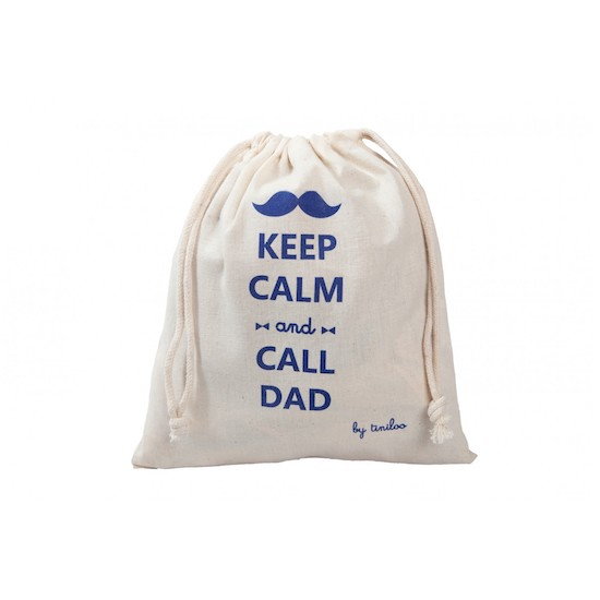 Pochon Keep Calm & Call Dad de la box Tiniloo