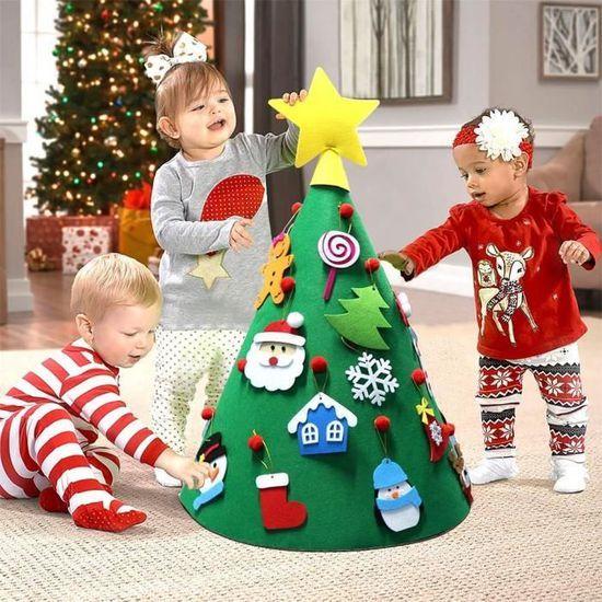 Arbre De Noël 3D pour le premier Noël bébé