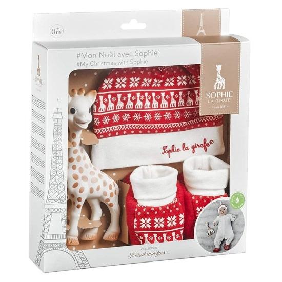 Coffret Mon Noël avec Sophie la Girafe de Vulli