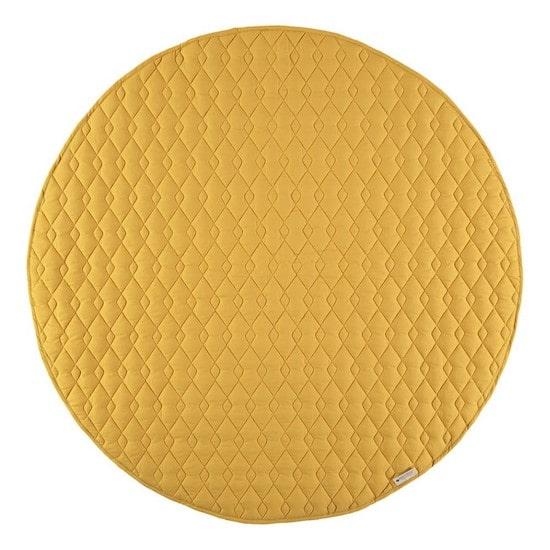 Tapis de jeu jaune moutarde Nobodinoz