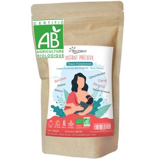 Tisane allaitement bio pour mamans allaitantes